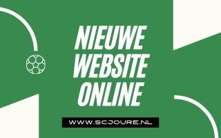 SC Joure vernieuwt website